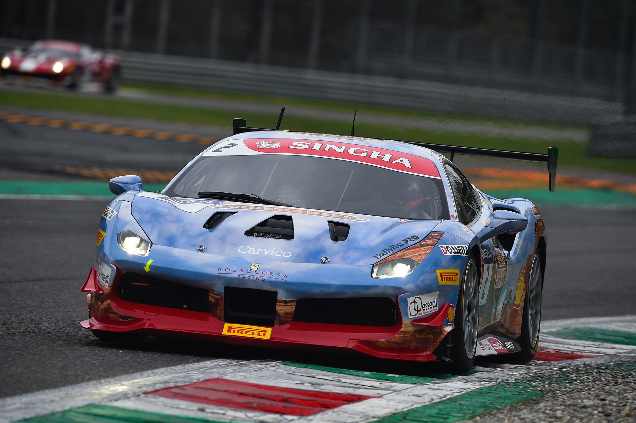 Carvico e Team Rossocorsa Ferrari