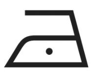 simbolo stiratura etichetta tessuti